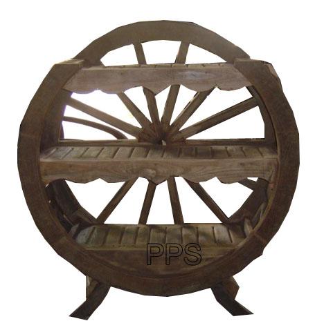 PS-Wood Shelf (sn324-1)