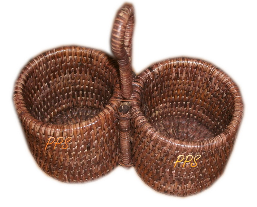 Rattan Basket 1919