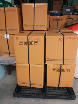 shipment to south korea