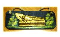 Buddha recline wall hanger