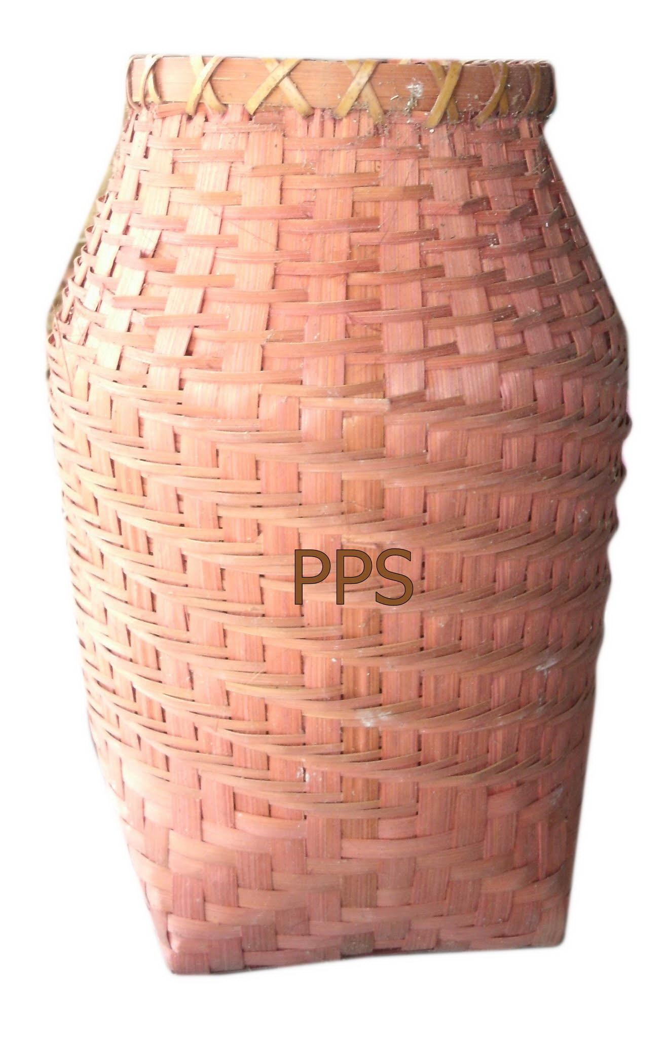 Bamboo tall Vase PS-BB-12