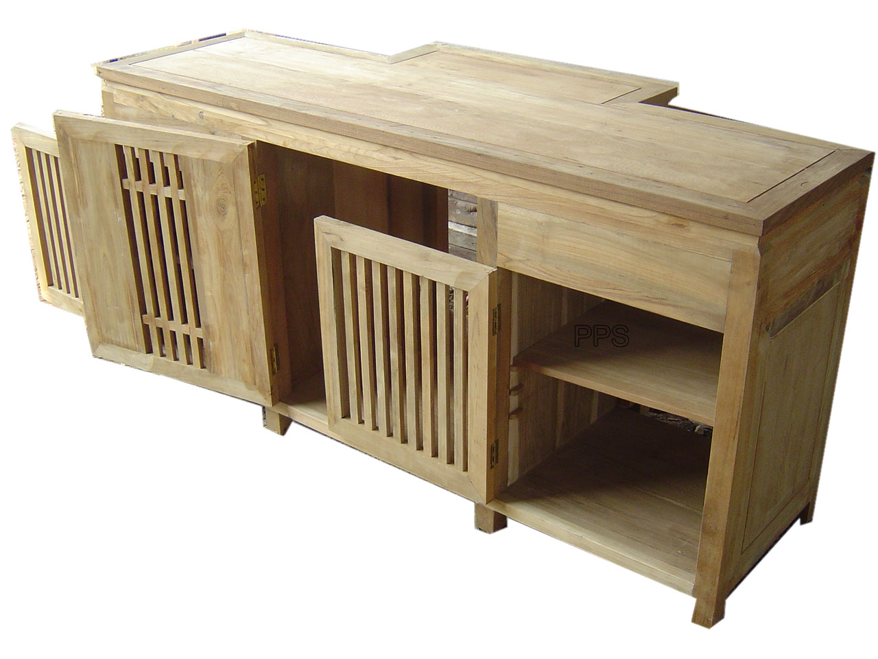 PS-Unfinished Wood Shelf