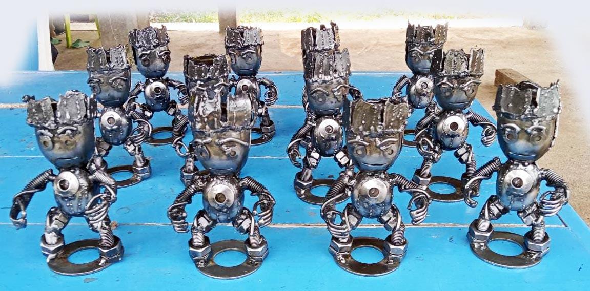Recycle Metal Robot-24