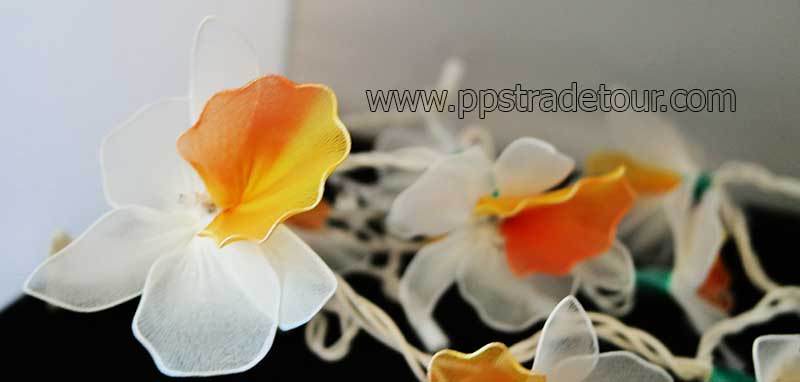 Nylon orchid light-12