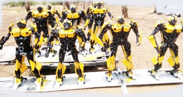 Recycle Metal Robot-40
