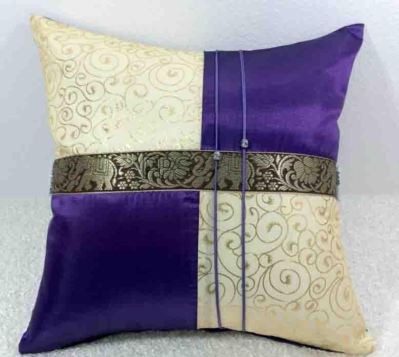 Silk Cushion Pillow Case-257