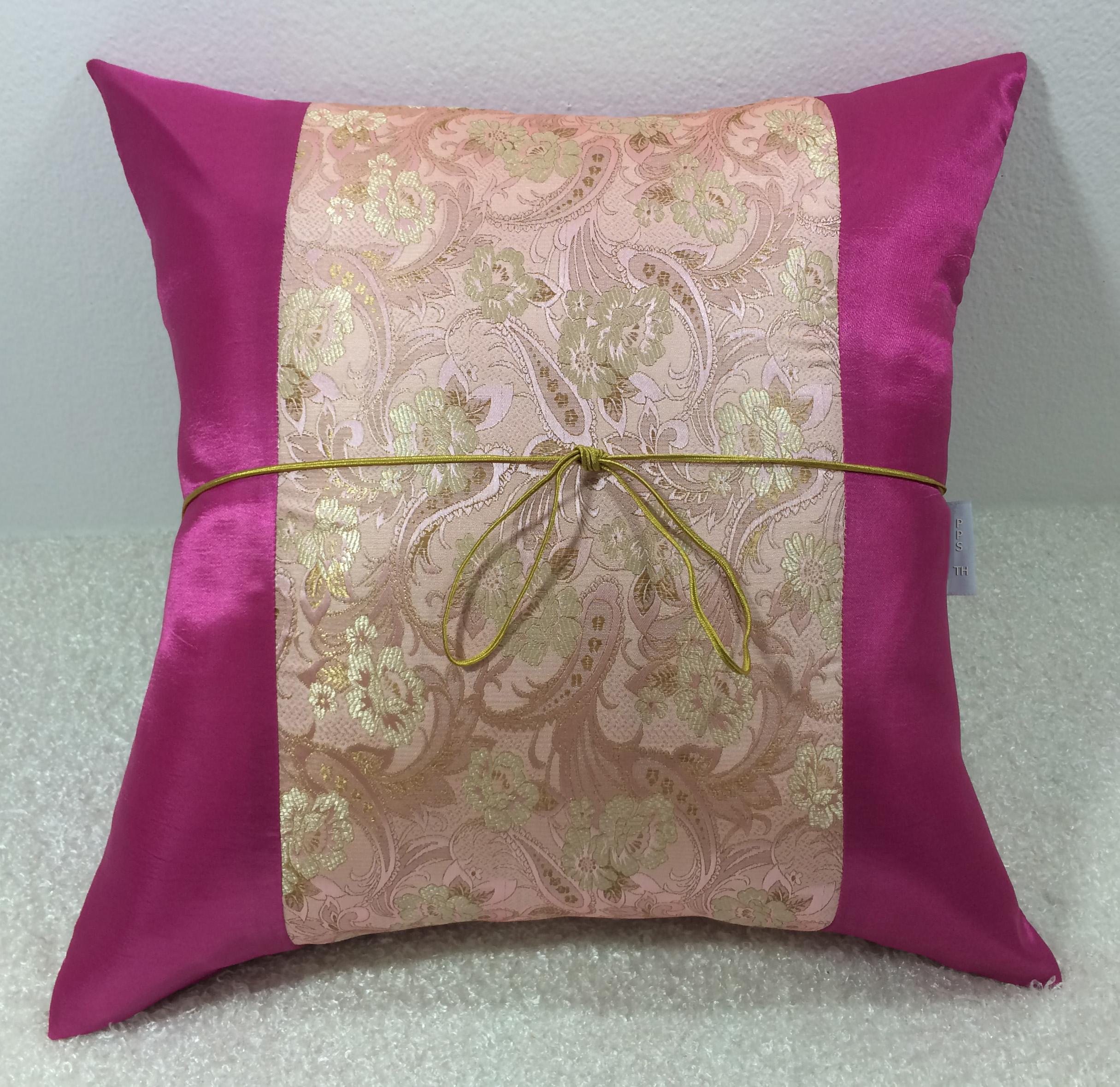 Silk Cushion Pillow Case-TL249