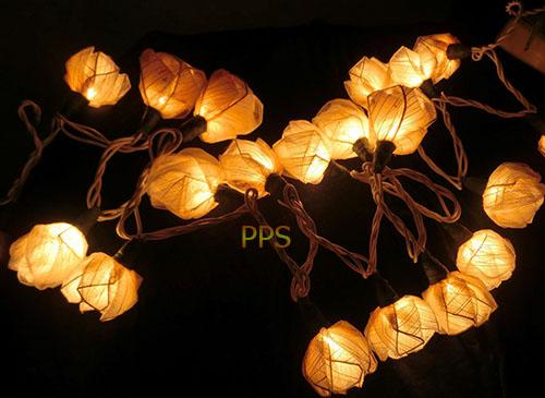Tree leaf flower lights