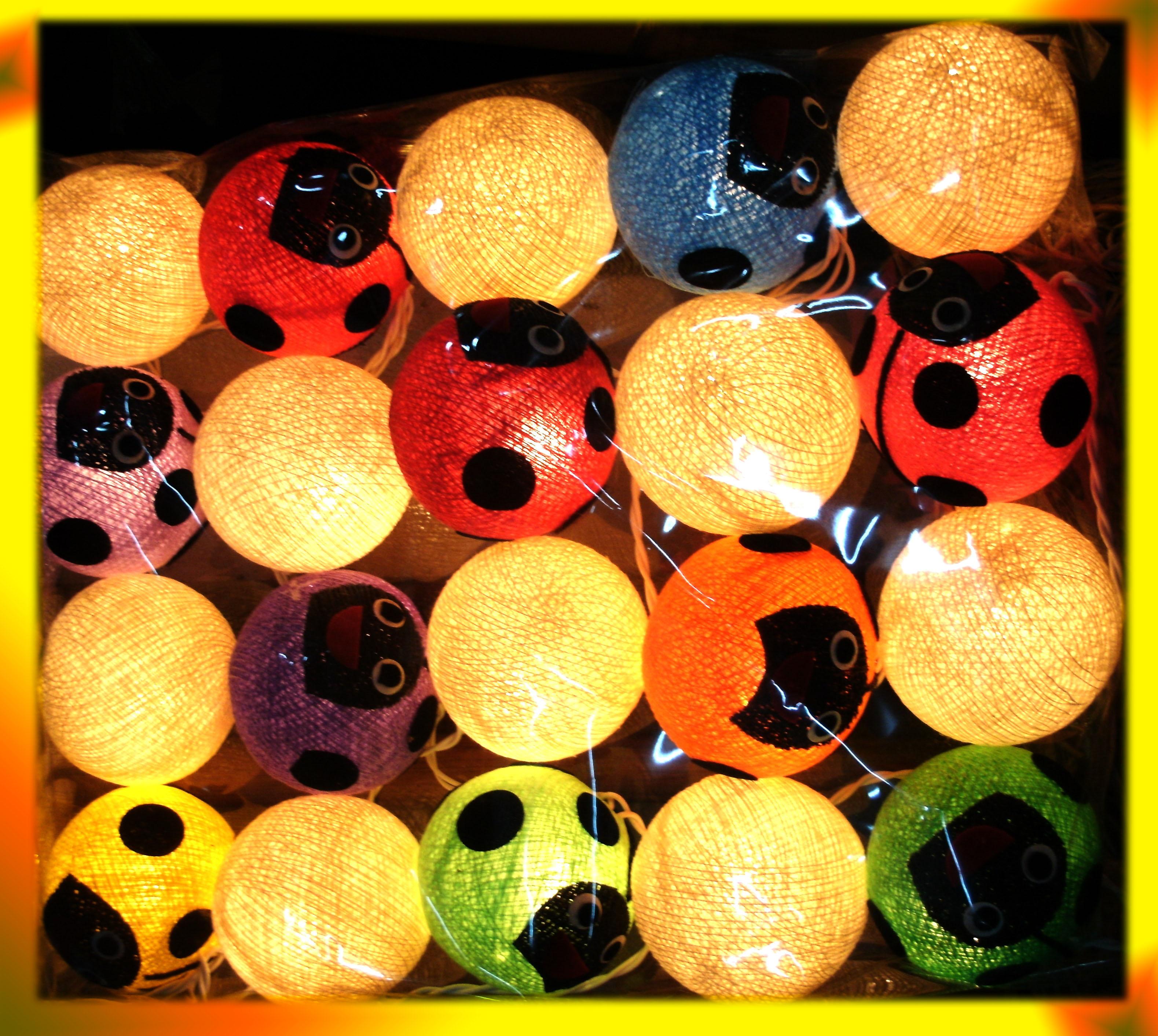 cotton ball- decorative
