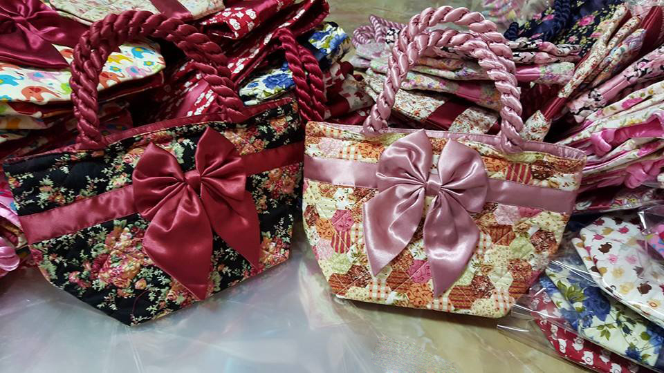 Cotton-Toray Bow Bags