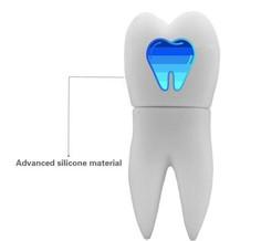 Custom Made Tooth Implant Shaped USB Flash Drive,  3D tooth implant shaped usb drive 2GB,flash drive Tooth Implant 2GB
