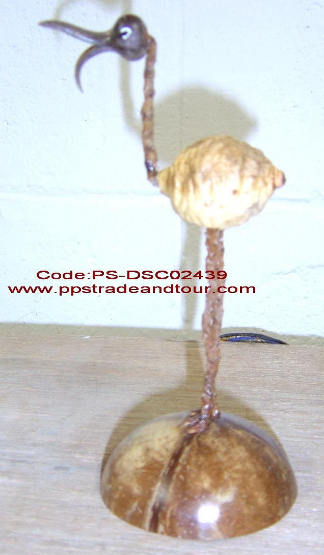 coconut shell saving doll-bird