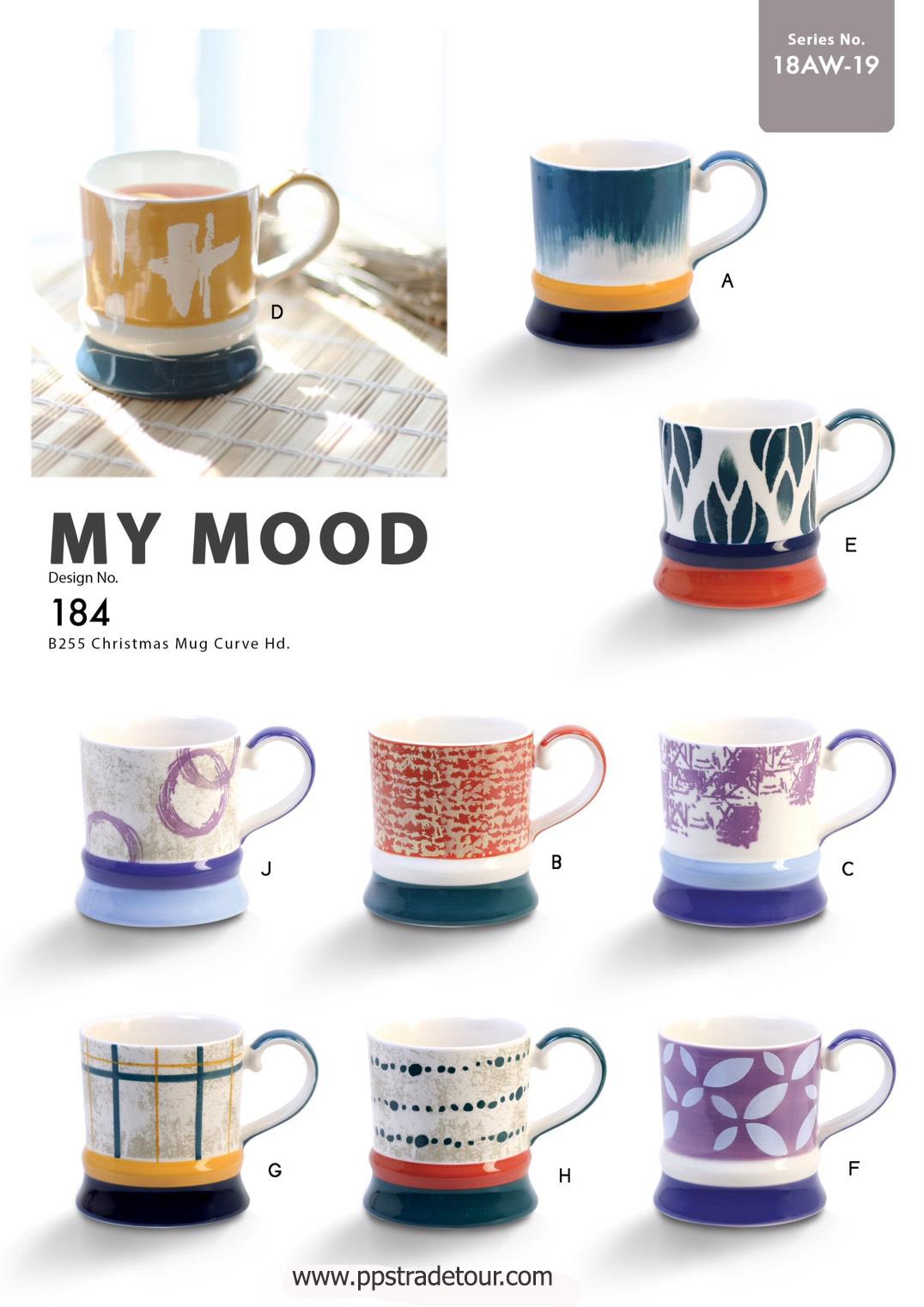 My Mood-Ceramic Mug 16 Oz.