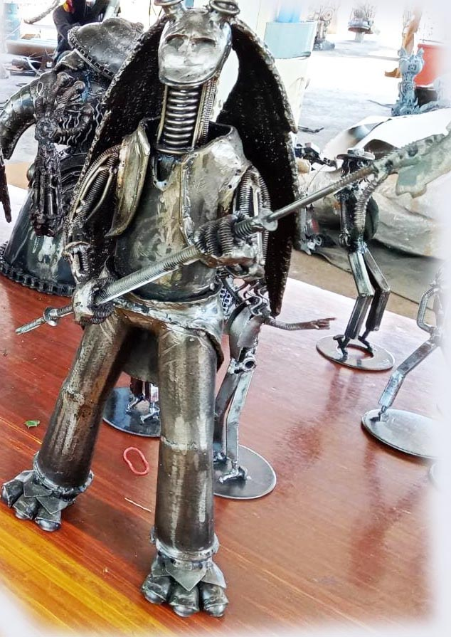 Recycle Metal Robot-3