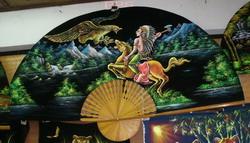 PPS- Wall Flannel Fan Paint