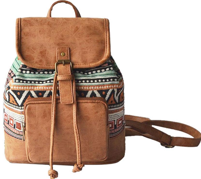 Tribal Pu Backpack-1