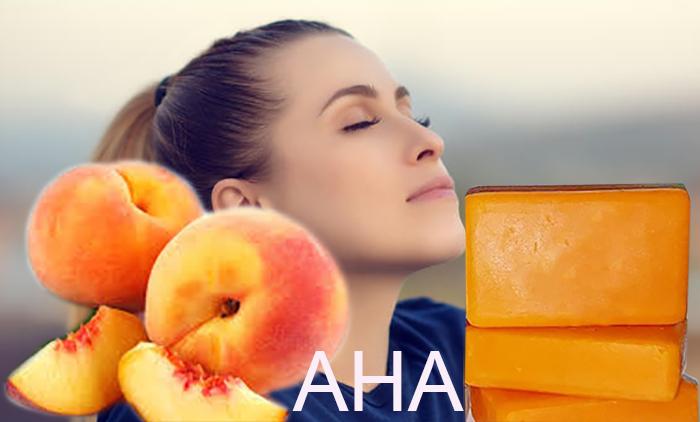 Peach-AHA-Soap