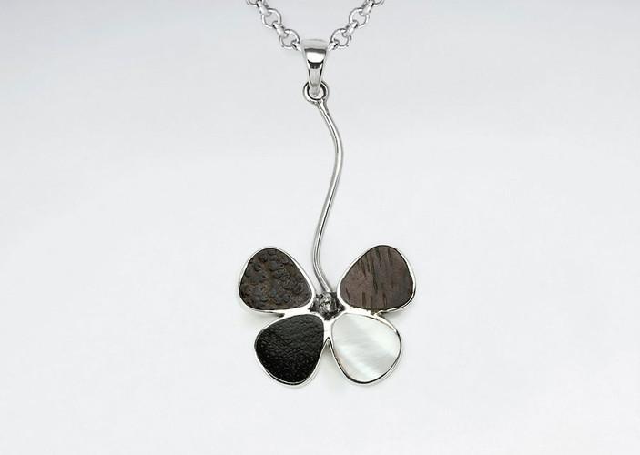 flower-natural-mix-wood-silver-pendant-p
