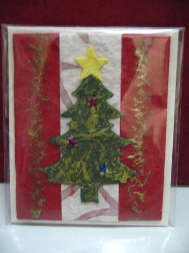 Mulberry Paper Christmas Card-44