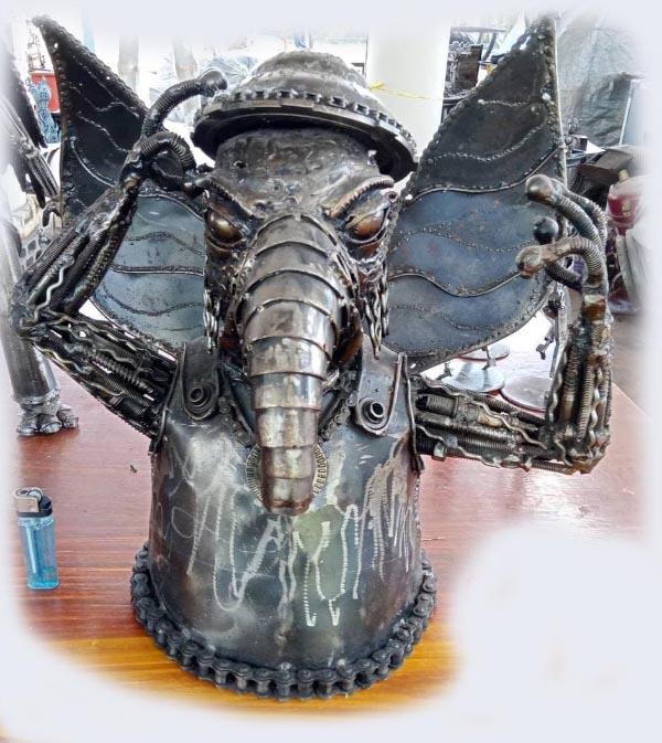 Recycle Metal Robot-12