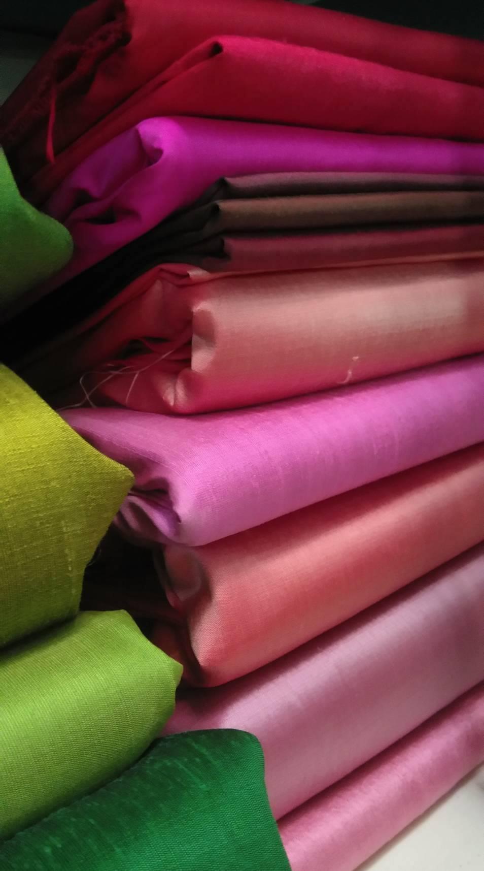 Thai silk 2 yards per pcs.