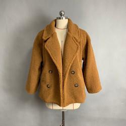 Winter Women Coat Woollen Coat Short Keep Warm Teddy Bear Fur Coat Fleece Jacket