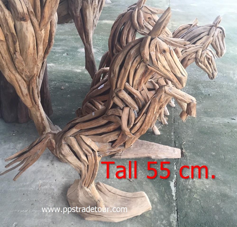 Driftwood Head Horse 32