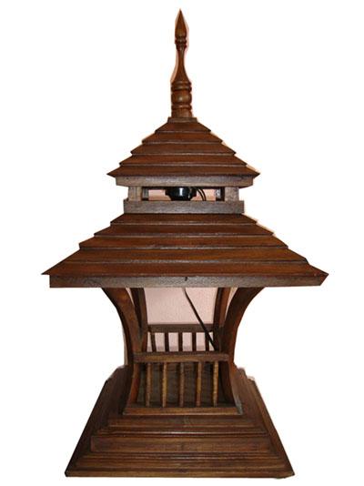 Teak Lamps 150103-w