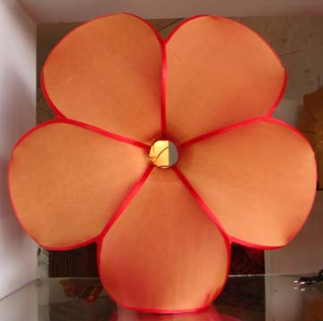 Silk Lamp flower shape