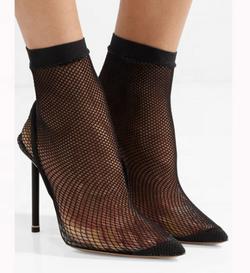 sock high heel sandals for women