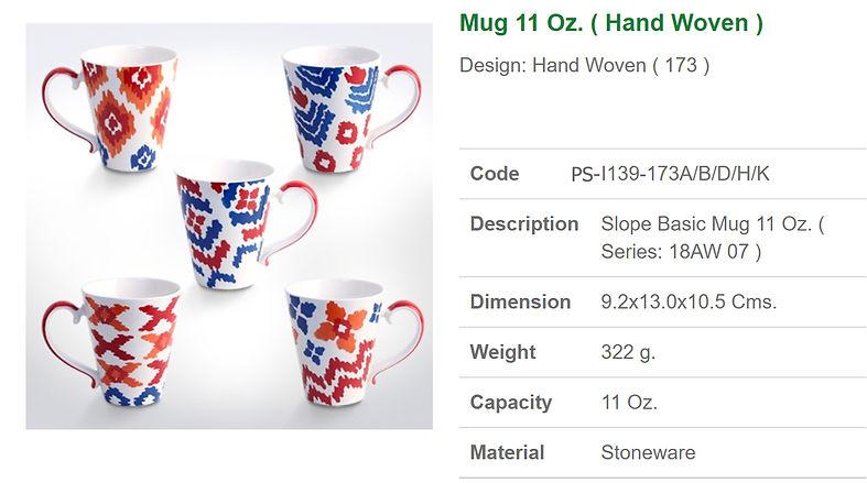 ceramic mug 11oz.- Hand Woven.jpg