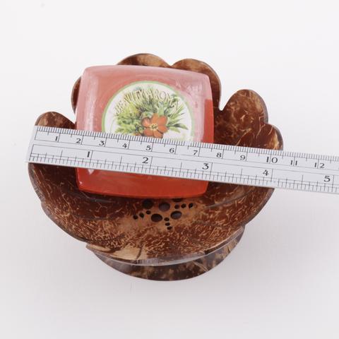 coconut shell soap tray 50