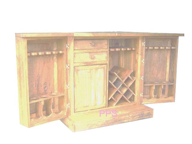 PS-Wood Shelf (sn307-2)