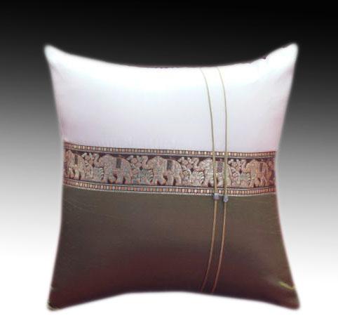 Cushion cover -2 tone Brown1