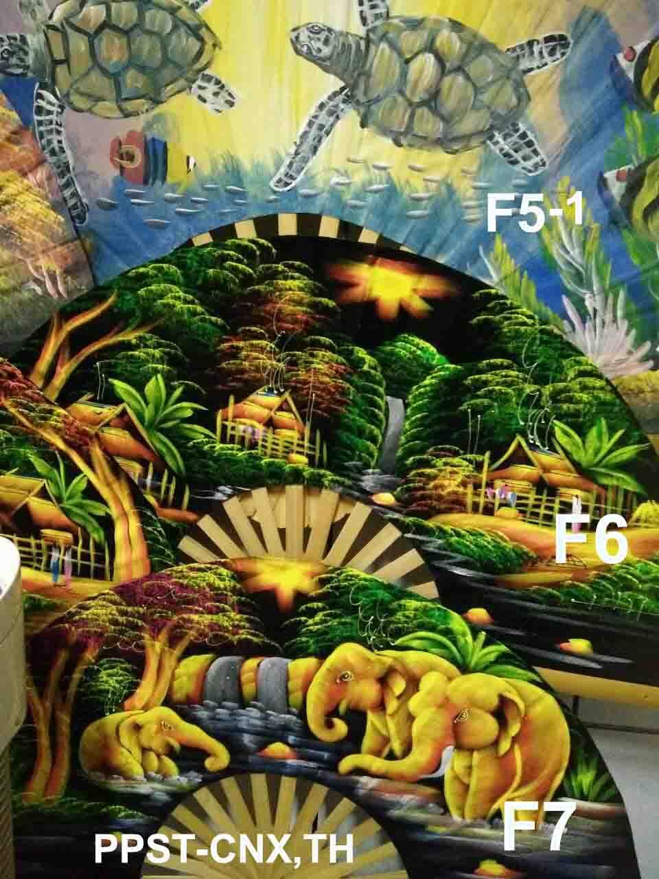 PPS- Wall Flannel Fan Paint-38