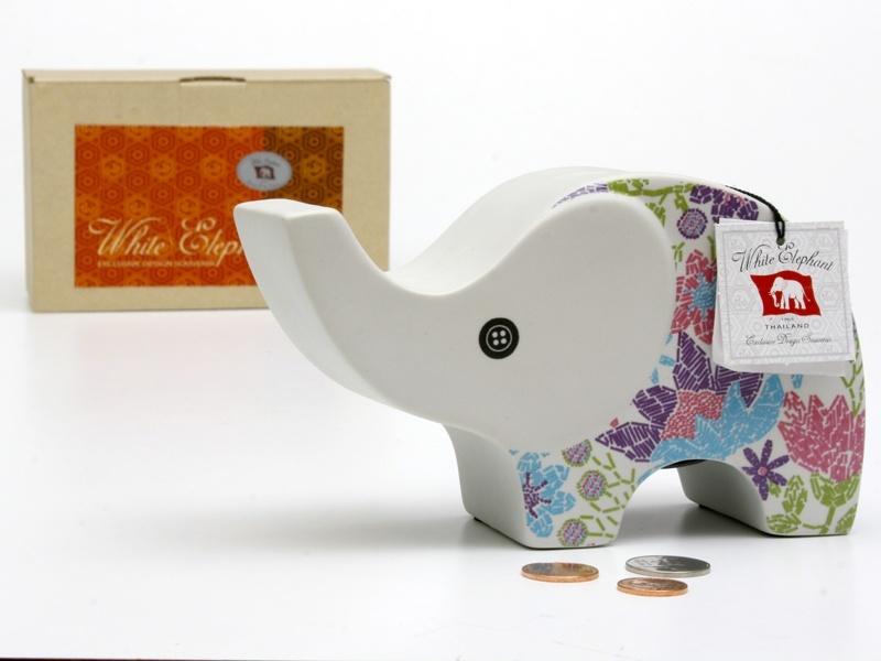 Elephant Ceramic Vase-22
