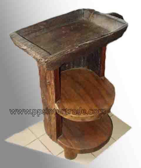 PS-Wood Shelf (sn352)