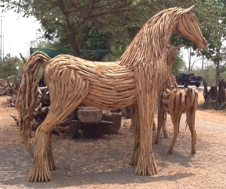 Driftwood Head Horse 34