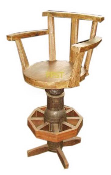 Antique stool-sn047