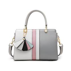 2020 Luxury Genuine Leather Handle Satchel Custom Women Satchel Bag