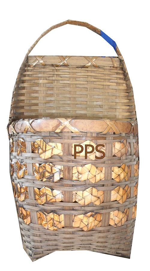 Bamboo basket PS-BB-37