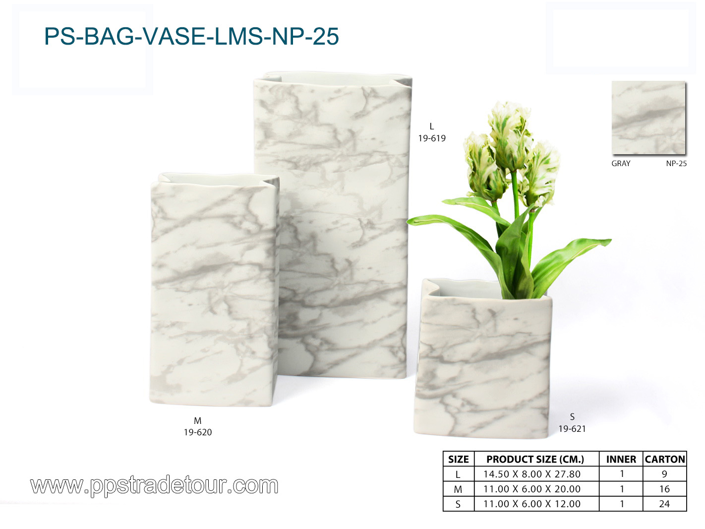 PSCV-BAG-VASE-LMS-NP-25-
