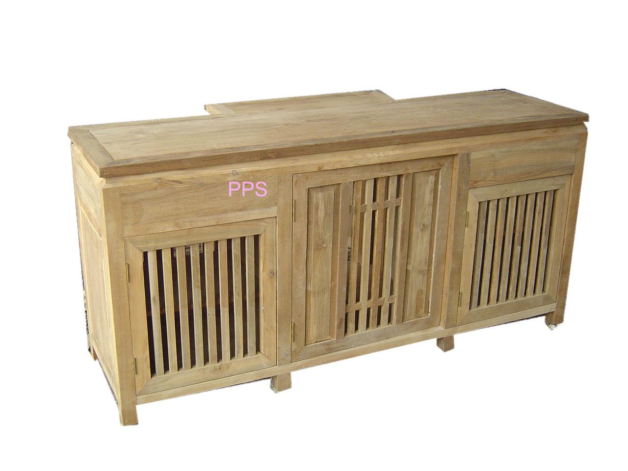 PS-Wood Shelf (sn345-1)