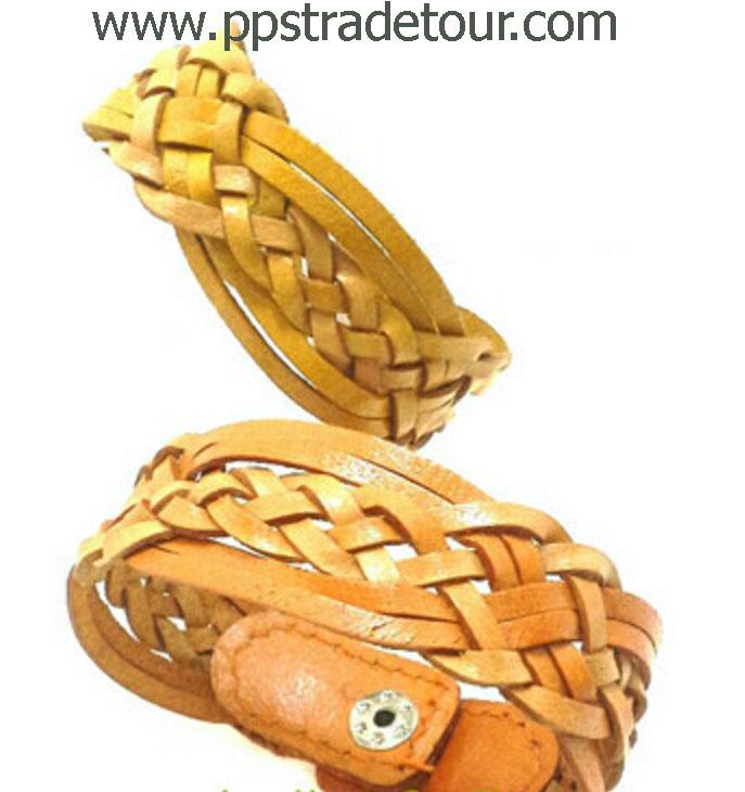 Leather Bracelet-N16