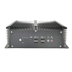 Hot Sale Industrial Mini PC Core i7 7500U i5 8250U Quad Core 2*COM Win10 Pro Computer Fanless Desktop Laptops With VGA HD