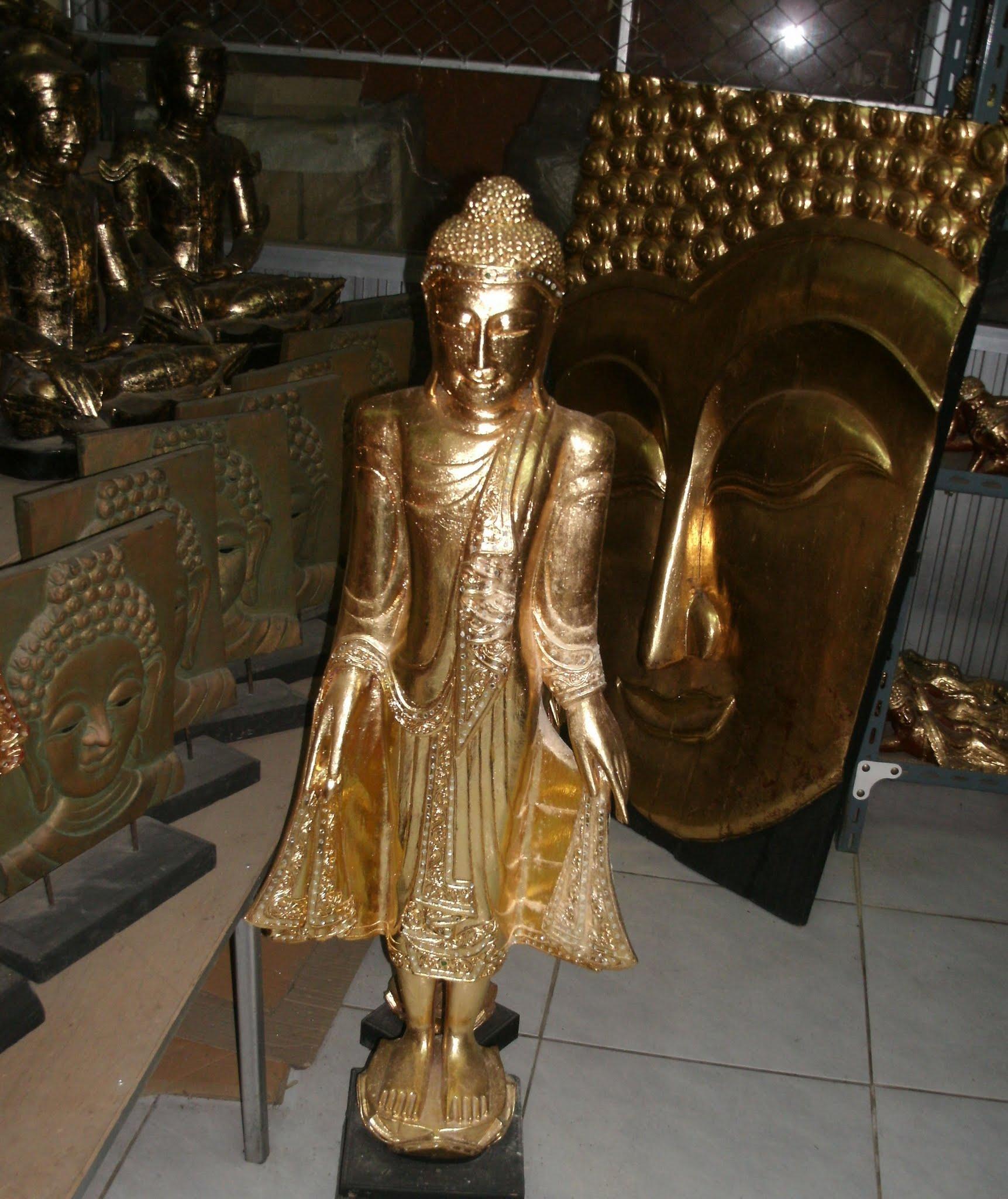Wood Buddha Image C4469-1