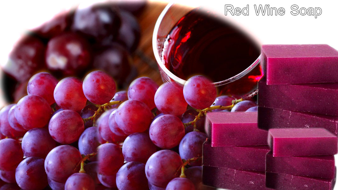 Red - wine -Soap