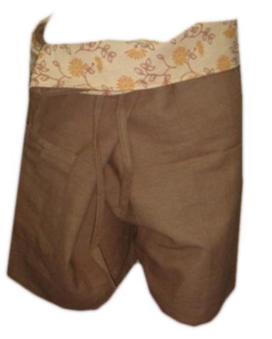Short Cotton Trouser-B13
