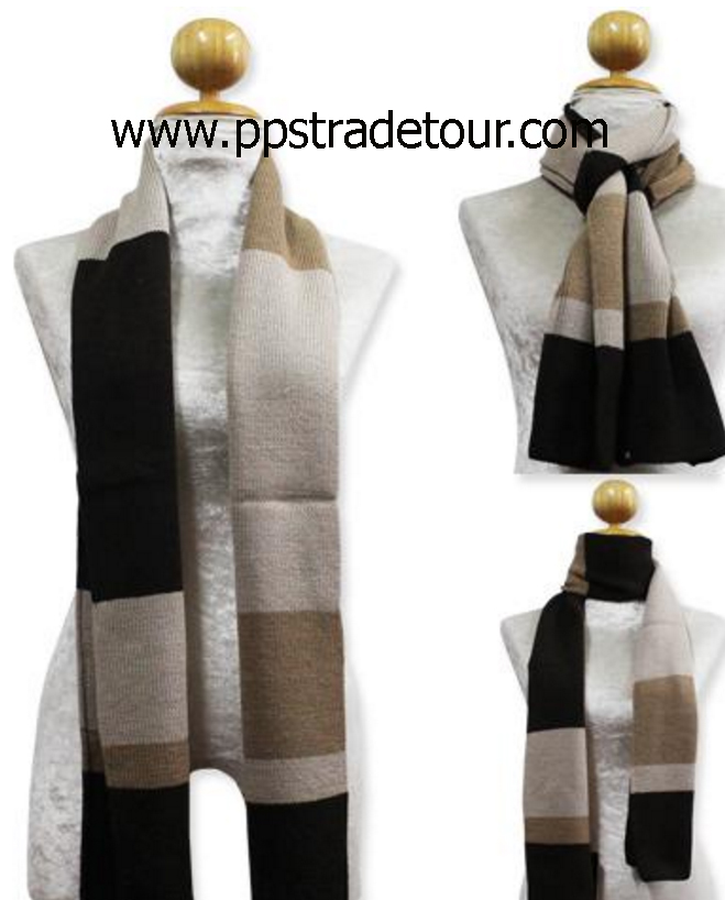 Knitting Wool Men Scarves-PS-SCF19