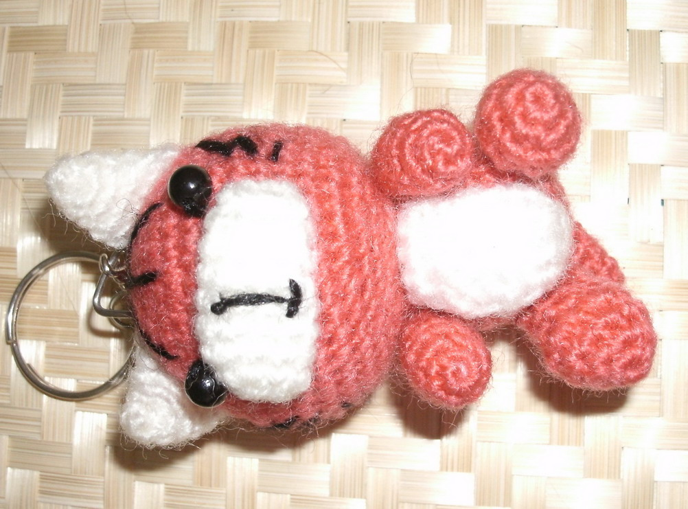 Crochet Doll Keyring-GEDC0018